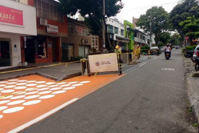 Inició adecuación de 'cuadra play' en Bucaramanga: peatonalizarán un carril