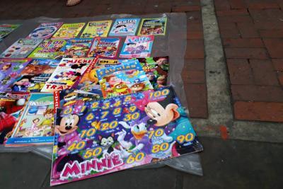 Demarcan vías para el futuro traslado de ventas ambulantes en Bucaramanga