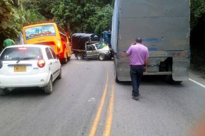 Posible exceso de velocidad habría originado accidente en vía a Curos