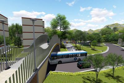 Puente peatonal sobre la Avenida Bucarica se transformará en una moderna estructura