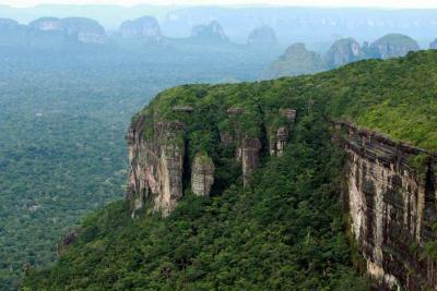 Parque Natural de Chiribiquete, declarado Patrimonio de la Humanidad por la Unesco