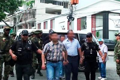 Autoridades capturaron a 14 integrantes del 'Clan del Golfo'