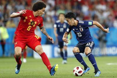Bélgica elimina a Japón tras un sorpresivo partido
