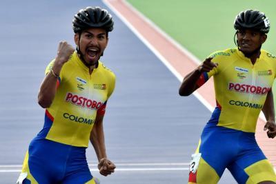 Colombia impone su ley en el Mundial de Patinaje de carreras