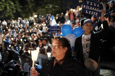 """Exigen renuncia """"inmediata"""" de Ortega y junta de transición en Nicaragua"""