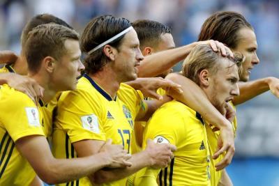 Suecia venció a Suiza y se enfrentará a Inglaterra