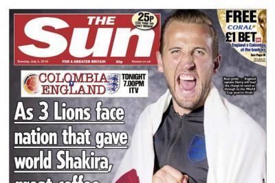 La polémica portada del diario inglés The Sun