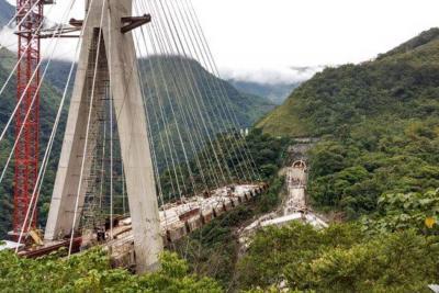 Con implosión, puente Chirajara será derribado