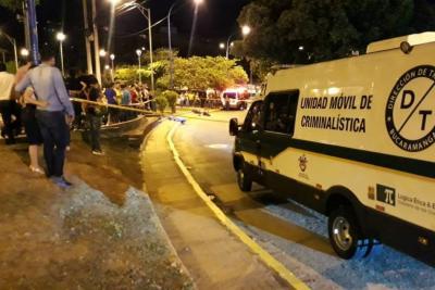 Fallece motociclista tras un choque cerca del puente de Provenza