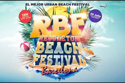 Los ritmos latinos desembarcan en Barcelona en el Reggaeton Beach Festival