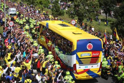 Así fue la fiesta de bienvenida de la Selección Colombia en Bogotá