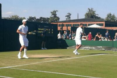 Juan Sebastián Cabal y Robert Farah, a octavos en Wimbledon