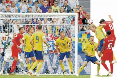 Inglaterra, de 'cabeza' en las semifinales del Mundial