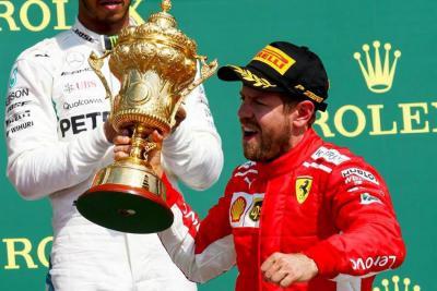 Vettel logró imponerse en Silverstone y amplió su ventaja sobre Hamilton
