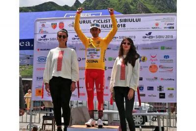 Iván Ramiro Sosa, 'amo' absoluto del Sibiu Tour