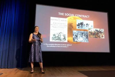 La bumanguesa que habla sobre colonizar Marte