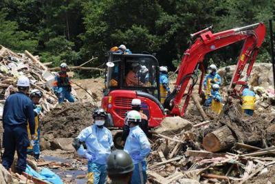 Más de un centenar de muertos en las peores lluvias en décadas en Japón