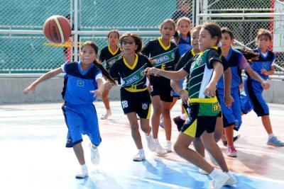 En el baloncesto local se busca el talento infantil