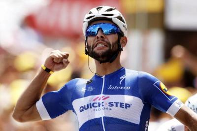 Fernando Gaviria ganó la cuarta etapa del Tour de Francia