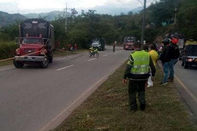 Muere peatón al ser arrollado por un vehículo en Bucaramanga