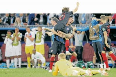 Croacia, 'campeón mundial' del coraje