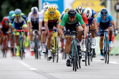 Sagan repitió victoria en el Tour y hoy sigue la montaña