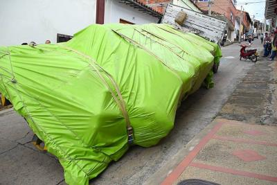 Tránsito recordó restricciones para vehículos de carga