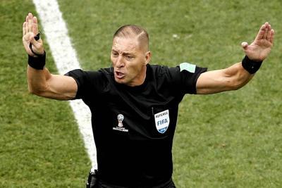 El argentino Néstor Pitana dirigirá la final Francia-Croacia