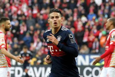 James Rodríguez celebra su cumpleaños y una temporada en el Bayern