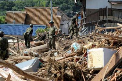 Inundaciones en Japón dejan más de 170 muertos