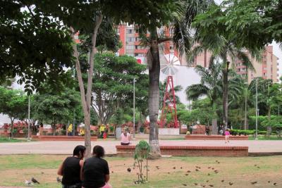 Los 'jardines' olvidados de la Ciudad de los Parques