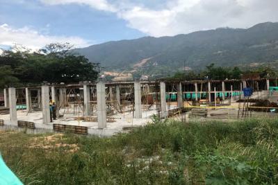 La sede A del Facundo Navas en Girón tiene 27% de construcción