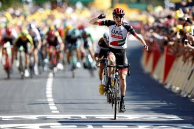 Martin ganó en la sexta etapa, Rigo es séptimo en la general
