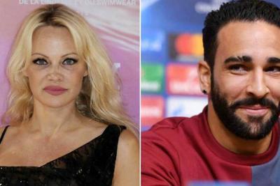 ¿Anunciarán su compromiso Pamela Anderson y Adil Rami después del Mundial? bang showbiz