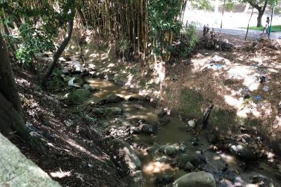 Entre AMB y comunidad coordinaron intervención de la quebrada Suratoque
