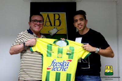 'Maxi' Núñez, el nuevo jugador del Bucaramanga