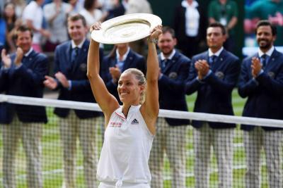 Angelique Kerber ganó Wimbledon al eliminar a Serena Williams