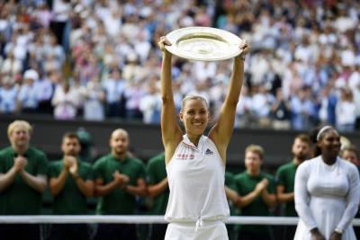 Angelique venció a Serena y es la reina de Wimbledon