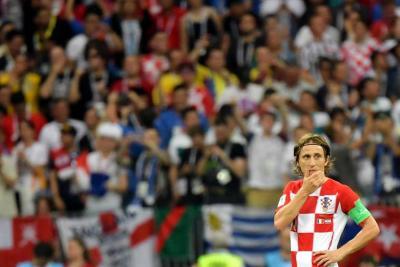 Modric fue elegido como el mejor jugador del Mundial de Rusia