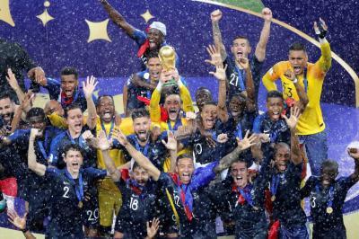 Francia, en el techo del fútbol