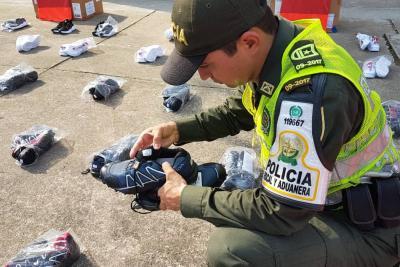 En Santander han incautado $3.700 millones en mercancía de contrabando en 2018