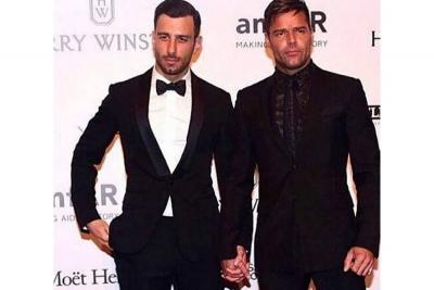 Las palabras de amor del marido  de Ricky Martin al cantante