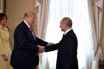 """Trump dice que el cara a cara con Putin ha sido """"un buen comienzo para todos"""""""