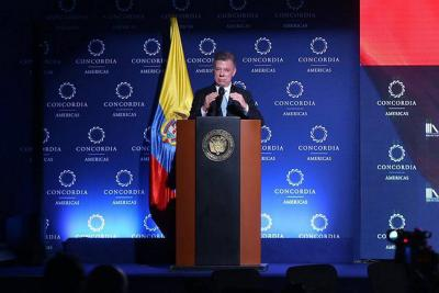 Juan Manuel Santos apoya propuesta de reforma pensional de Iván Duque