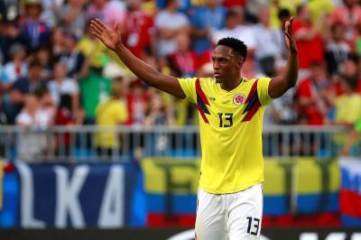 Yerry Mina, una de las nuevas estrellas que deja la Copa Mundo, según la Fifa