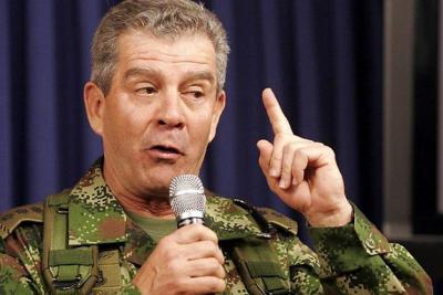 General (r) Mario Montoya Uribe se somete a la JEP
