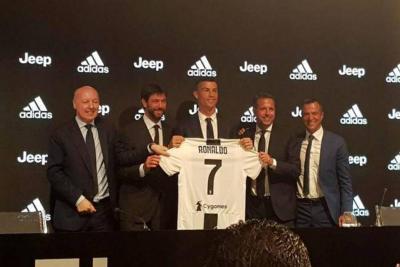 """""""El Juventus no es un paso atrás, siempre es adelante"""": Ronaldo"""