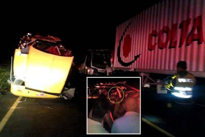 Fuerte choque en Ruta del Sol II: un conductor murió