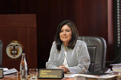 Consejo de Estado ratificó elección como magistrada de Diana Fajardo