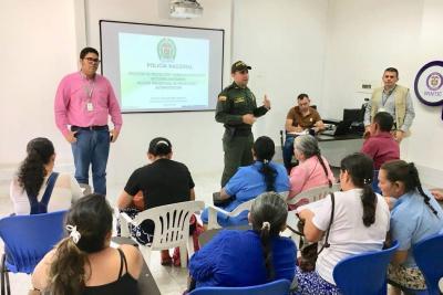 Líderes sociales comuneros se reunieron con autoridades